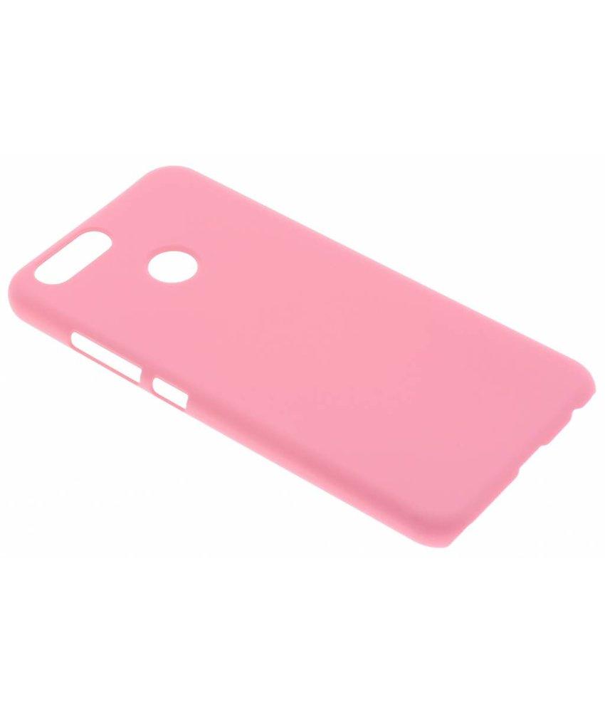 Roze effen hardcase hoesje Huawei Nova 2