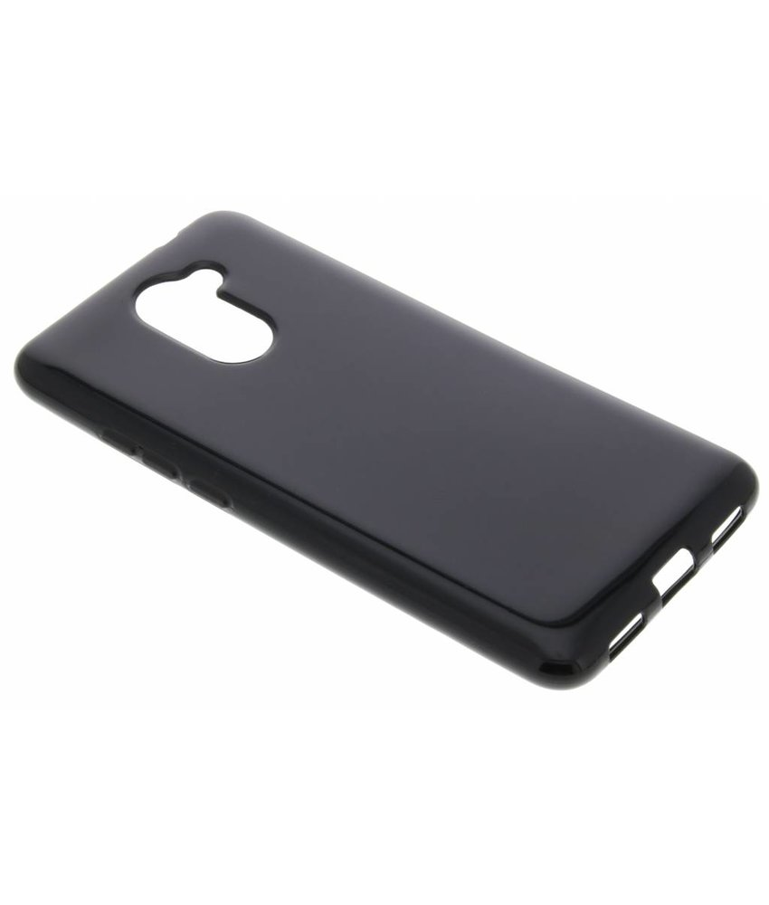 Zwart gel case Huawei Y7 Prime
