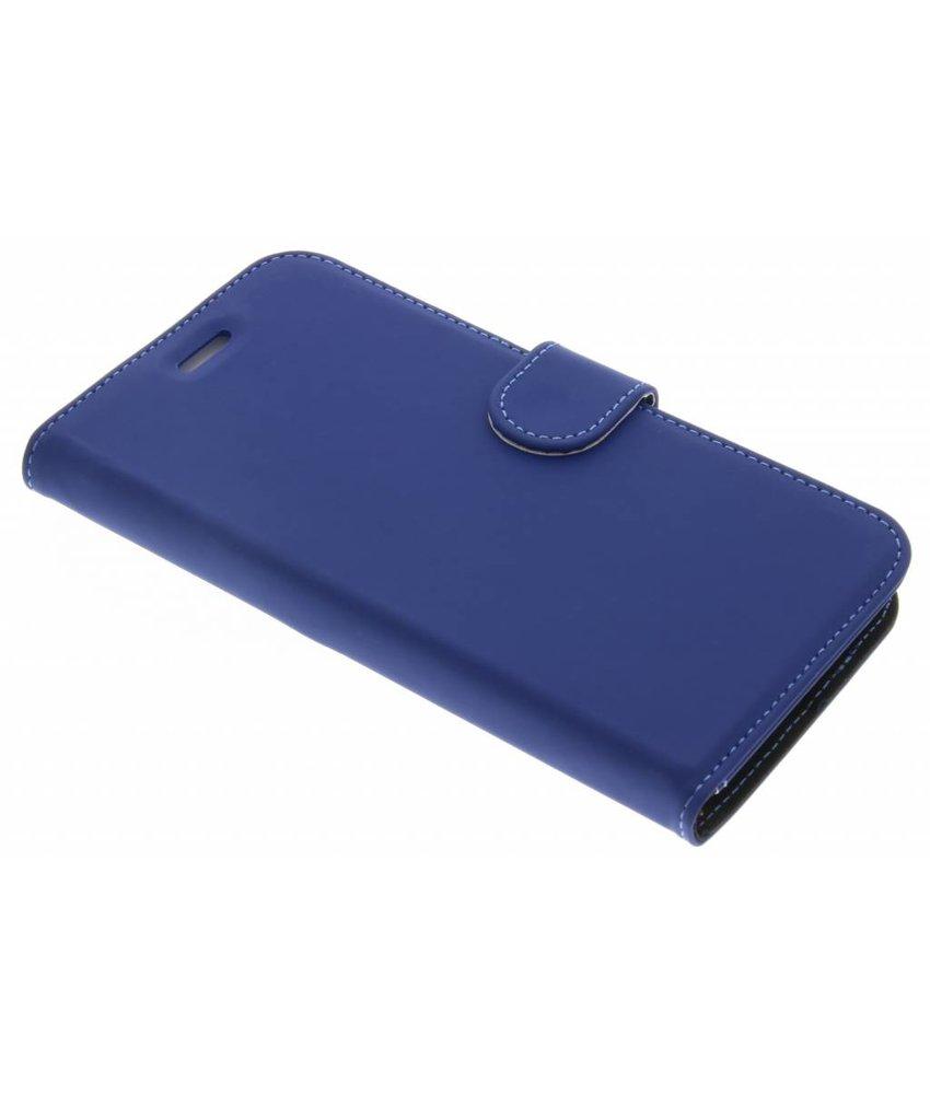 Portefeuille Des Paillettes Bleu Livret Tpu Pour Huawei Lite P9 s86ILl