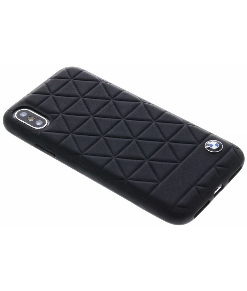 BMW Zwart Hexagon Hard Case iPhone X