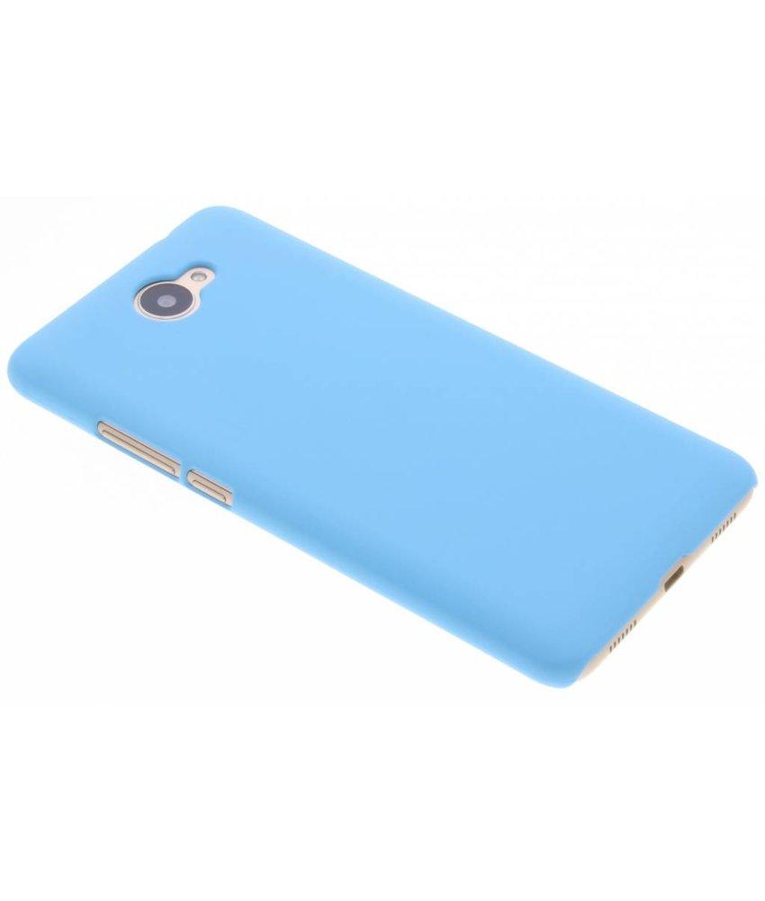 Turquoise effen hardcase hoesje Huawei Y7 (2017)