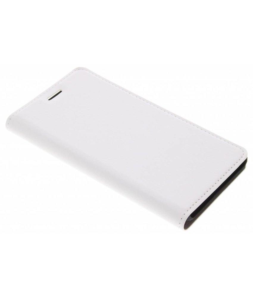 Wit Effen Booklet Huawei Y6 (2017)