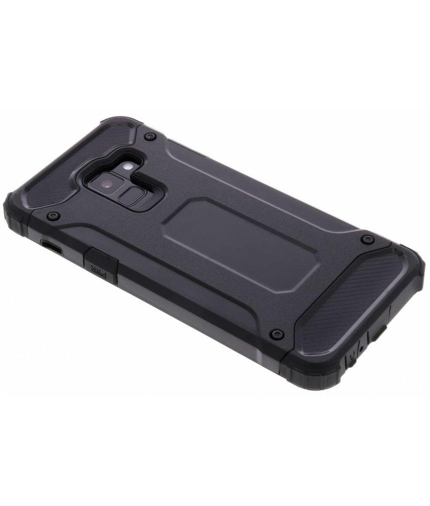 Zwart Rugged Xtreme Case Samsung Galaxy A8 (2018)