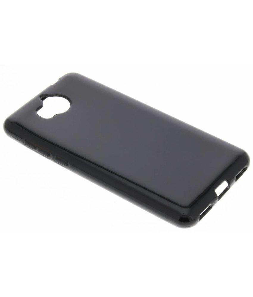 Zwart gel case Huawei Y6 (2017)
