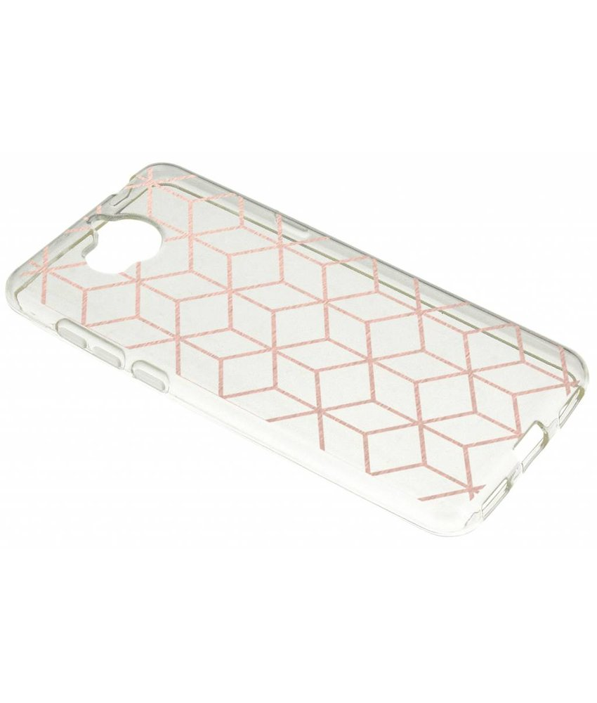 Cubes design TPU hoesje Huawei Y6 (2017)