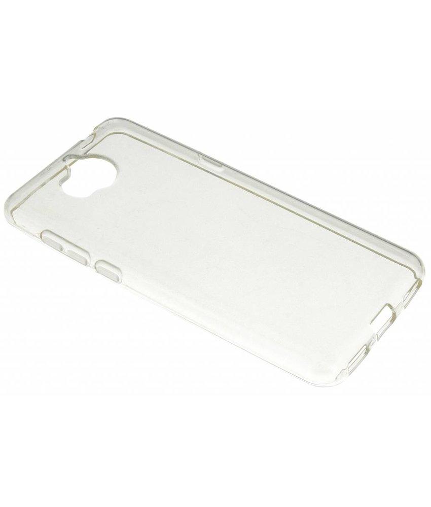 Transparant gel case Huawei Y6 (2017)
