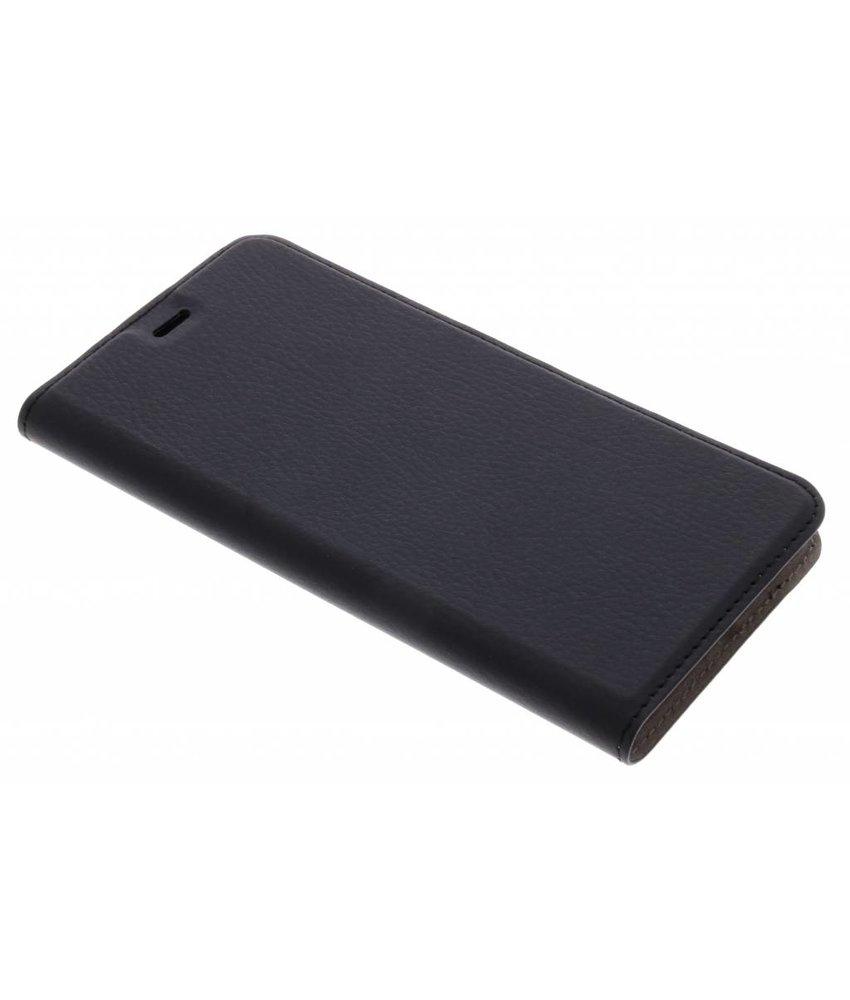 Zwart Effen Booklet Huawei P10 Plus