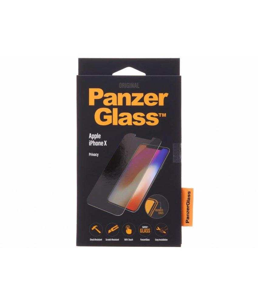 PanzerGlass Privacy Screenprotector iPhone X