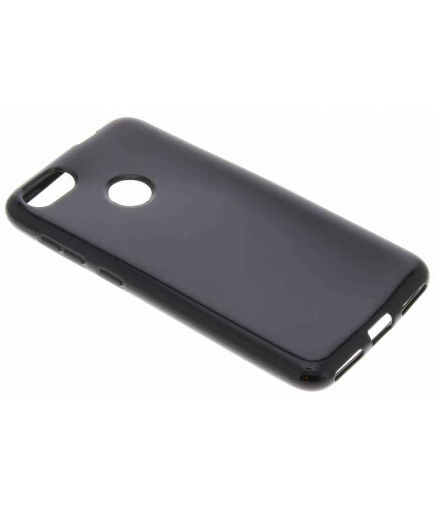 Zwart Gel Case Huawei Y6 Pro (2017) / P9 Lite Mini