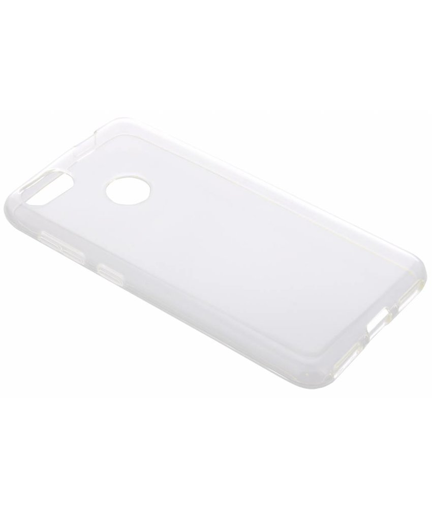 Transparant gel case Huawei Y6 Pro (2017) / P9 Lite Mini
