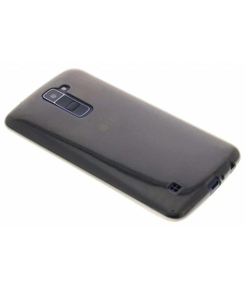 Grijs ultra thin transparant TPU hoesje LG K10