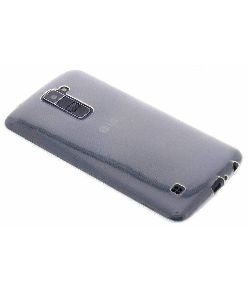 Ultra thin transparant TPU hoesje LG K10