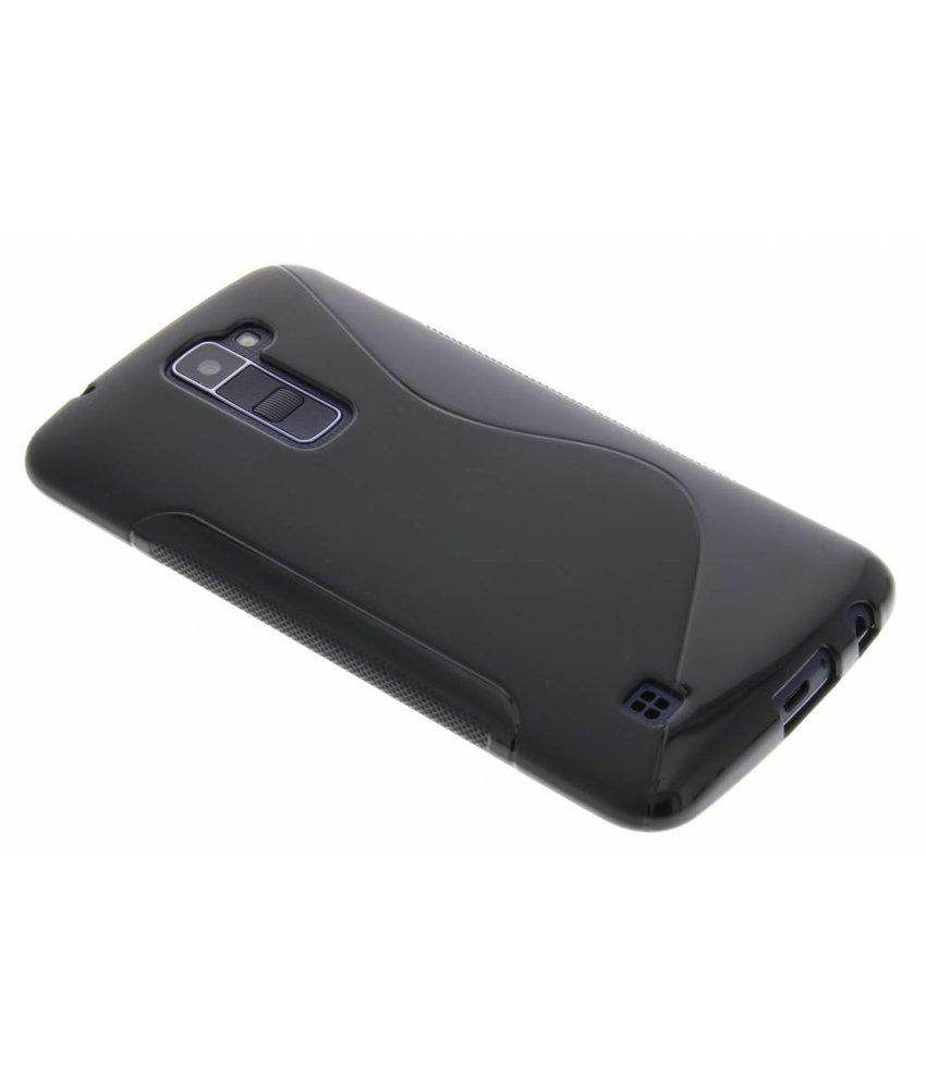 Zwart S-line TPU hoesje LG K10