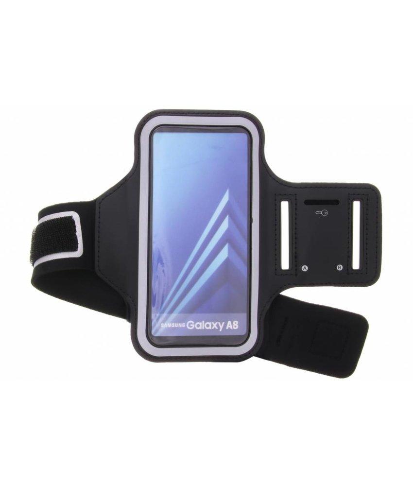 Zwart sportarmband Samsung Galaxy A8 (2018)