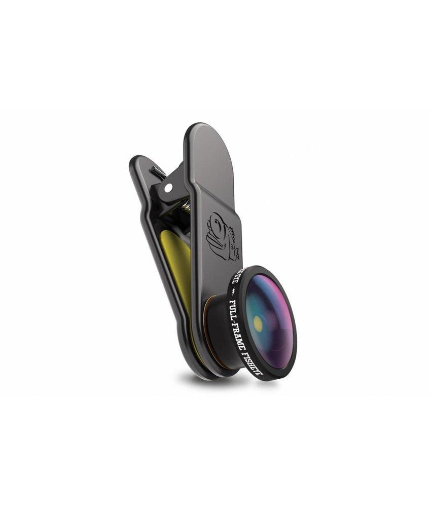 Black Eye Full Frame Fish Eye Smartphone Lens