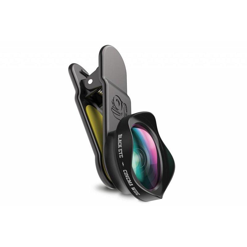 Black Eye Cinema Wide Angle Smartphone Lens