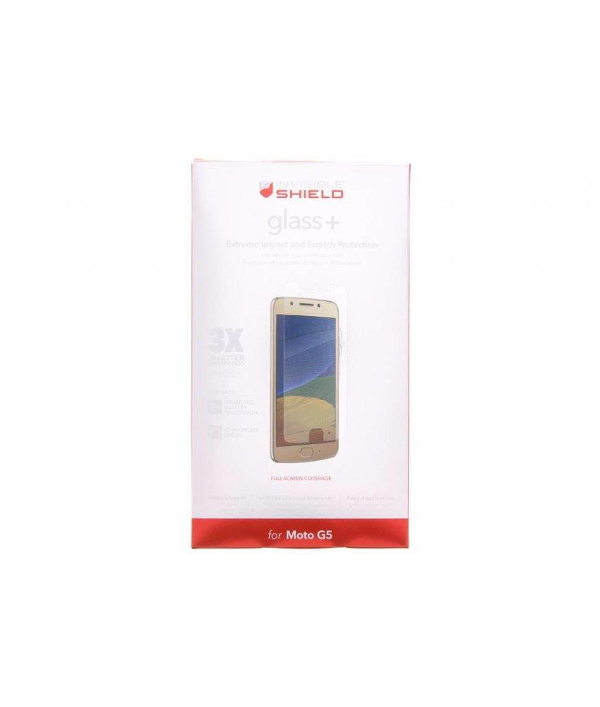 ZAGG InvisibleShield Glass+ Screenprotector Motorola Moto G5