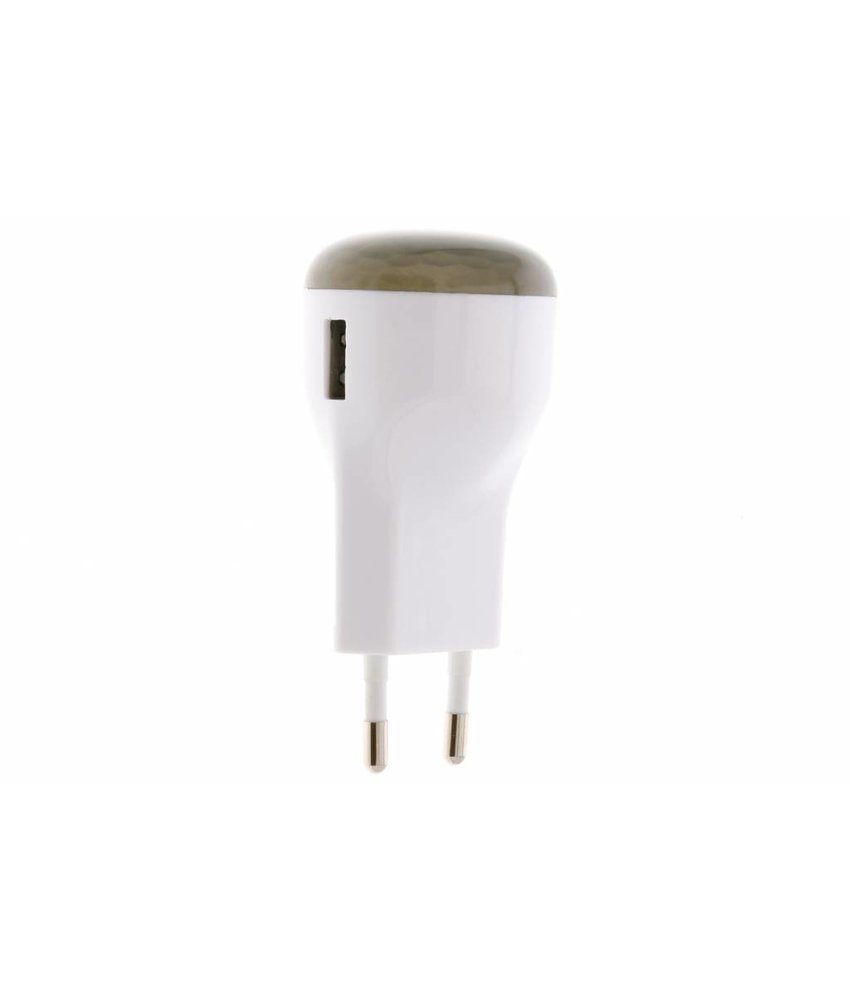 Capidi USB Charger & Nightlight - 2,1 ampère