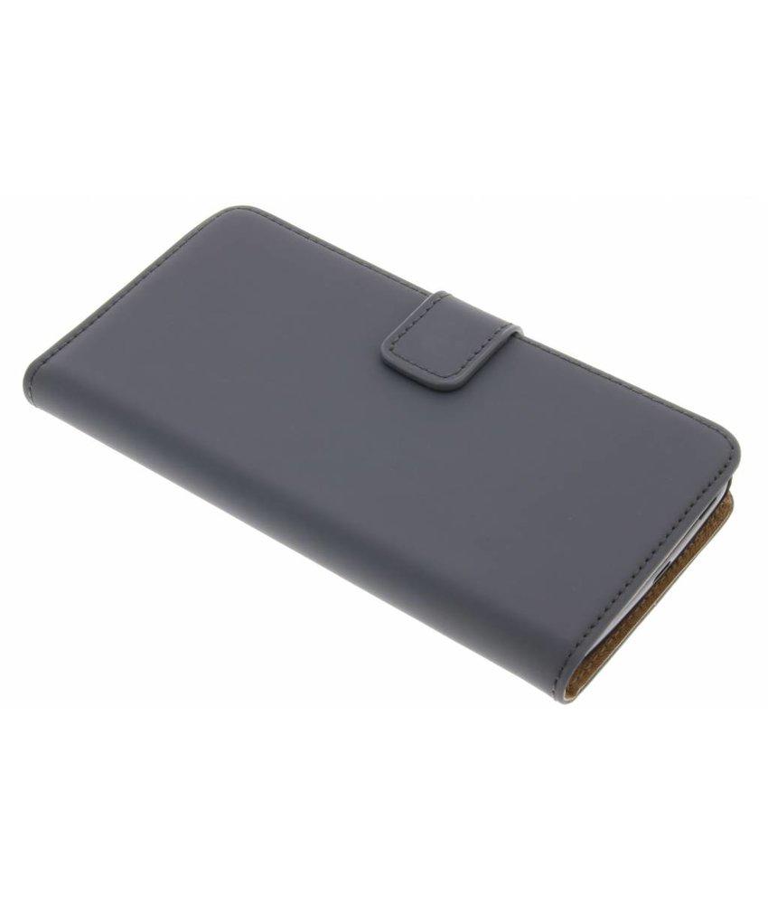 Selencia Grijs Luxe Book Case Motorola Moto G5