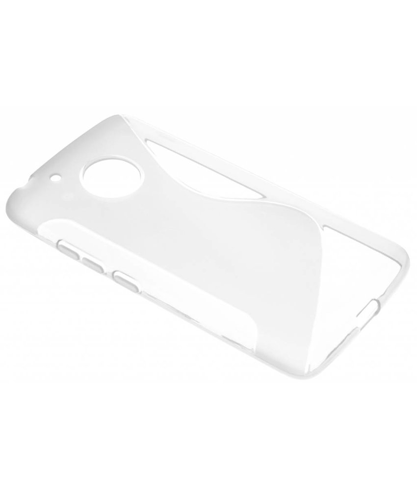 Transparant S-Line TPU hoesje Motorola Moto G5