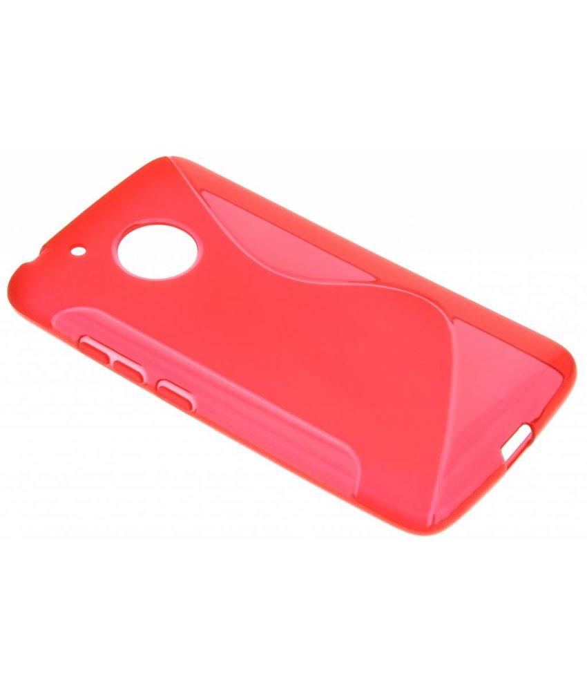 Rood S-Line TPU hoesje Motorola Moto G5