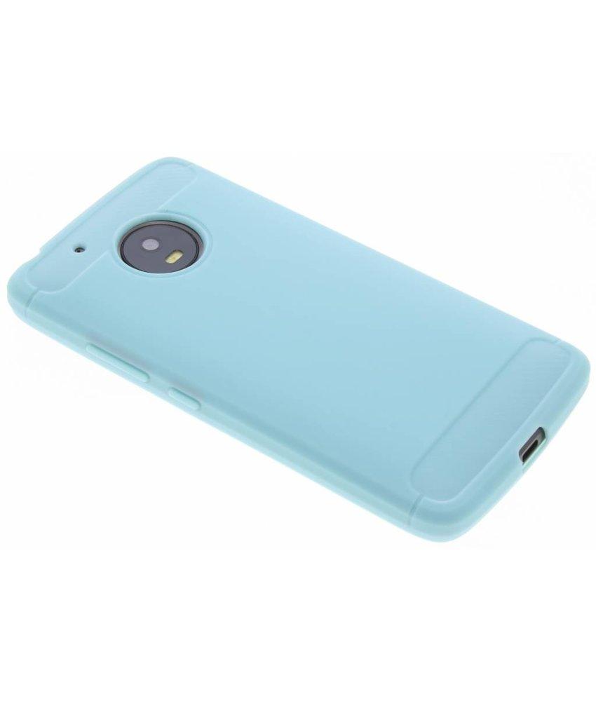 Turquoise Brushed TPU case Motorola Moto G5