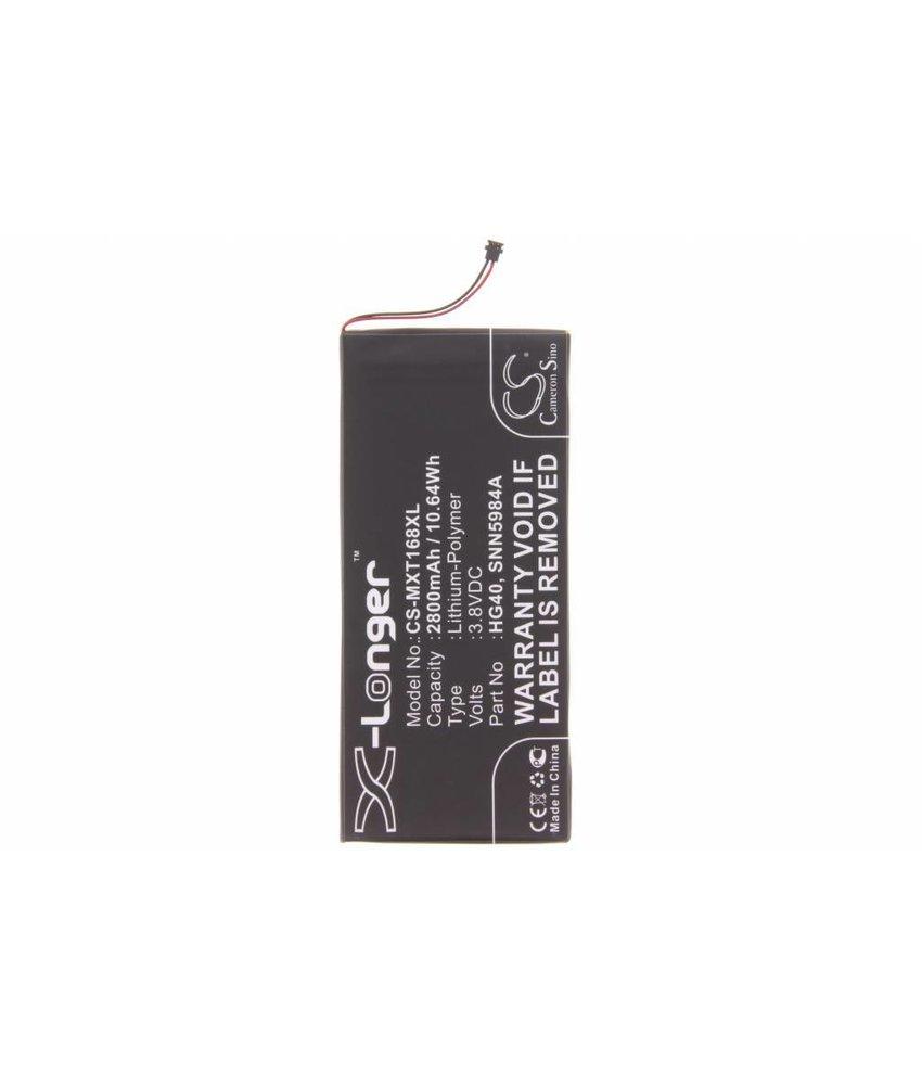 2800 mAh batterij Motorola Moto G5 Plus