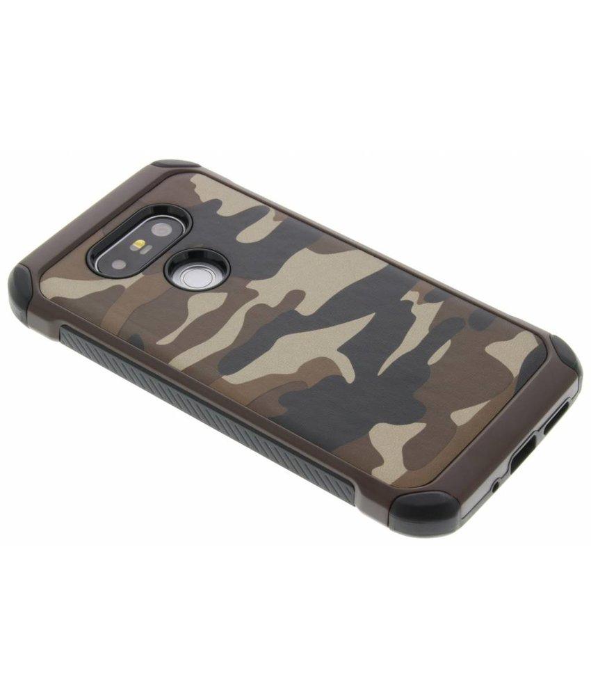 Bruin army defender hardcase hoesje LG G5 (SE)
