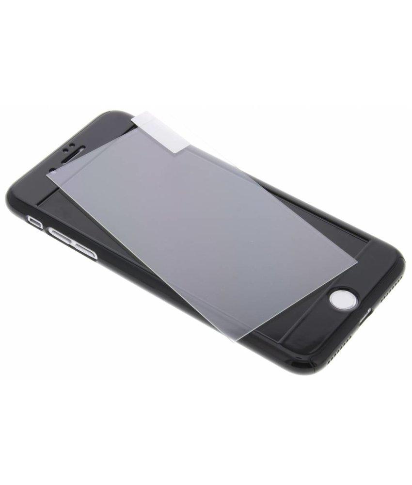 Zwart 360° effen protect case iPhone 8 Plus / 7 Plus