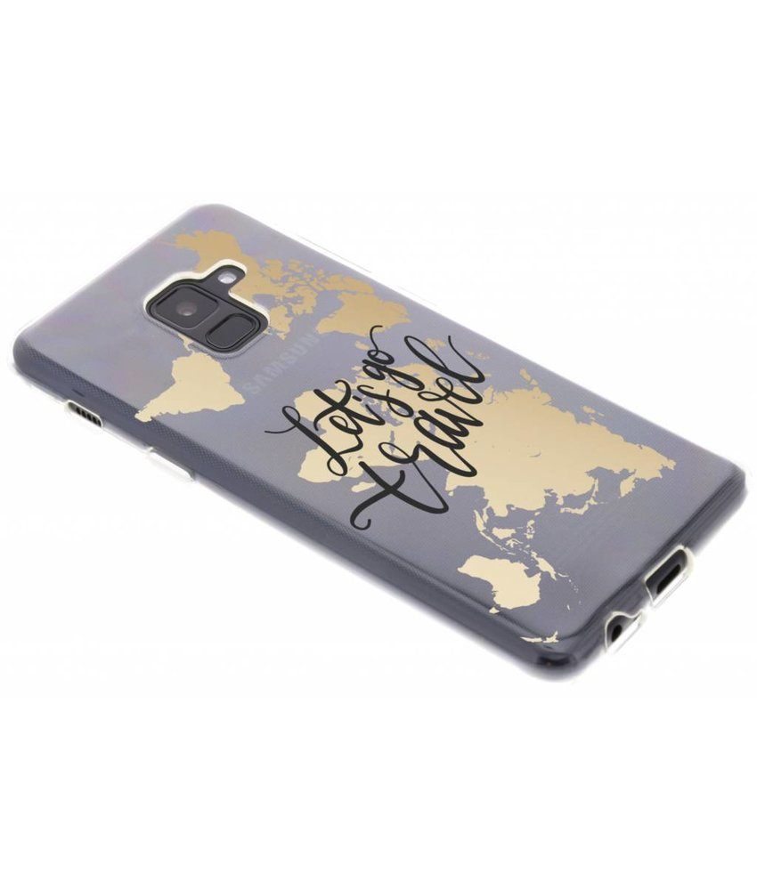Quote design TPU hoesje Samsung Galaxy A8 (2018)