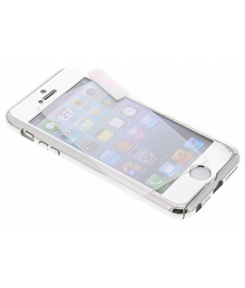 Zilver 360° effen protect case iPhone 5 / 5s / SE