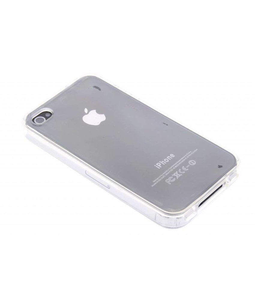 Transparant gel case iPhone 4 / 4s