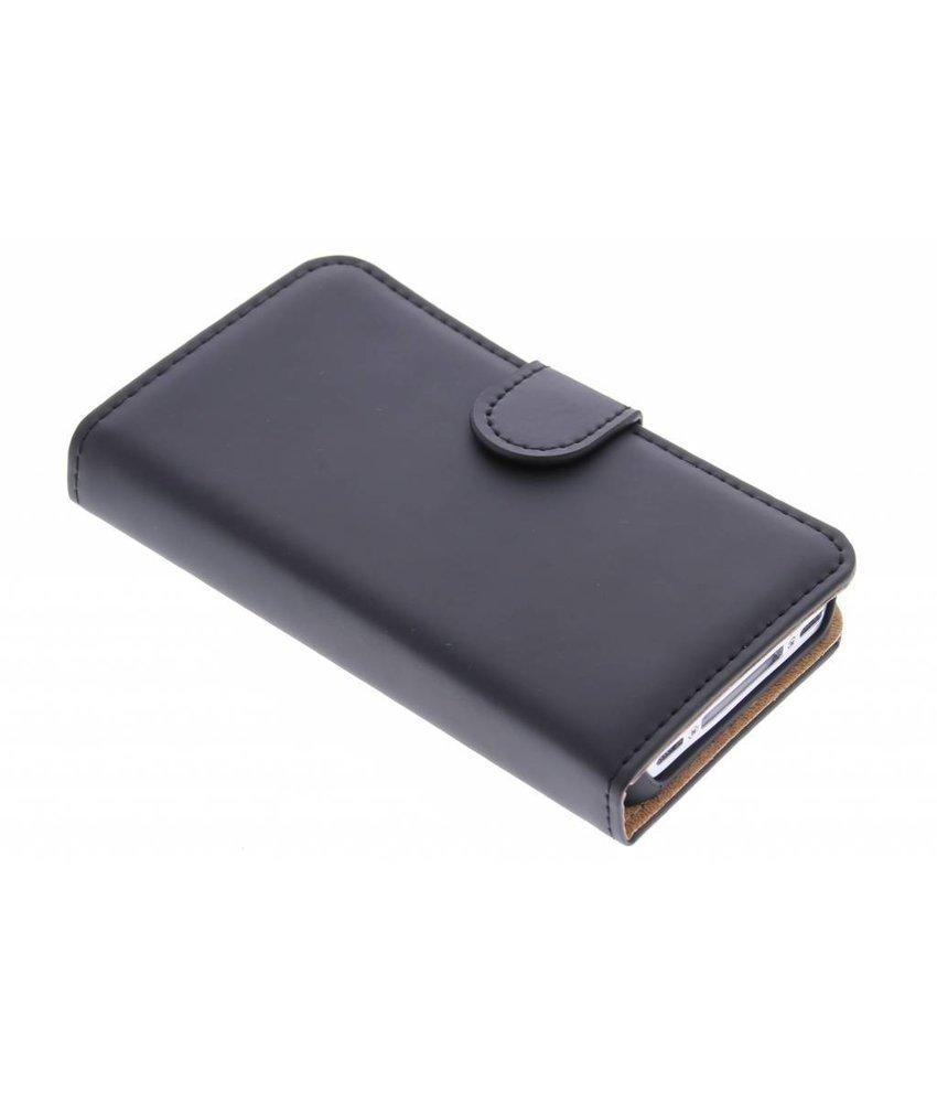 Selencia Luxe Book Case iPhone 4 / 4s - Zwart