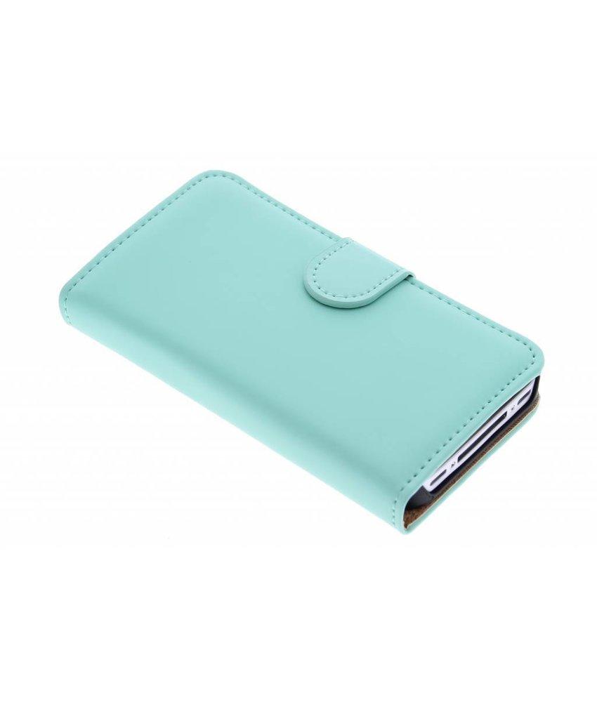Selencia Luxe Book Case iPhone 4 / 4s - Mintgroen