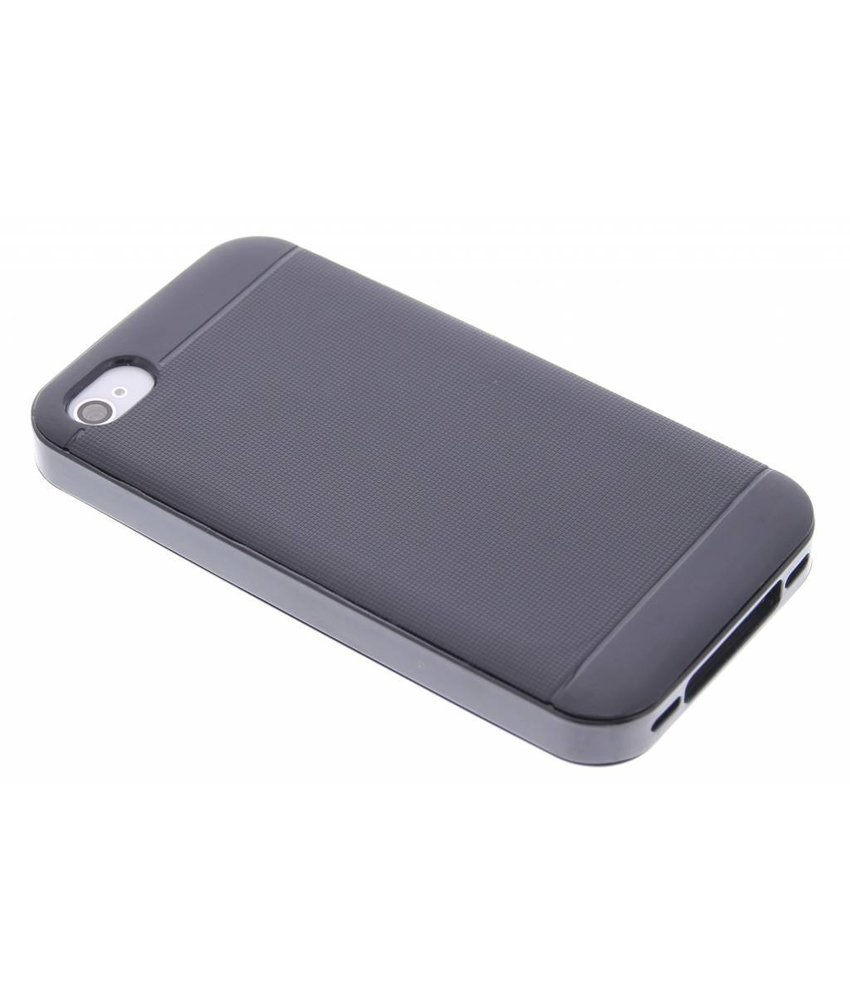 Zwart TPU Protect case iPhone 4 / 4s