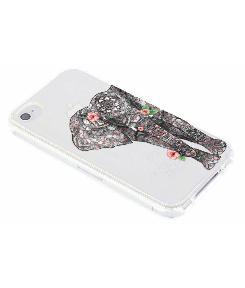 Dieren design TPU hoesje iPhone 4 / 4s
