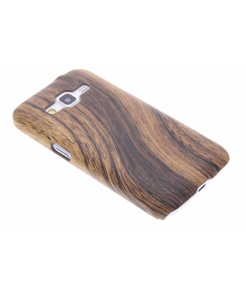 Hout design hardcase hoesje Samsung Galaxy Core Prime