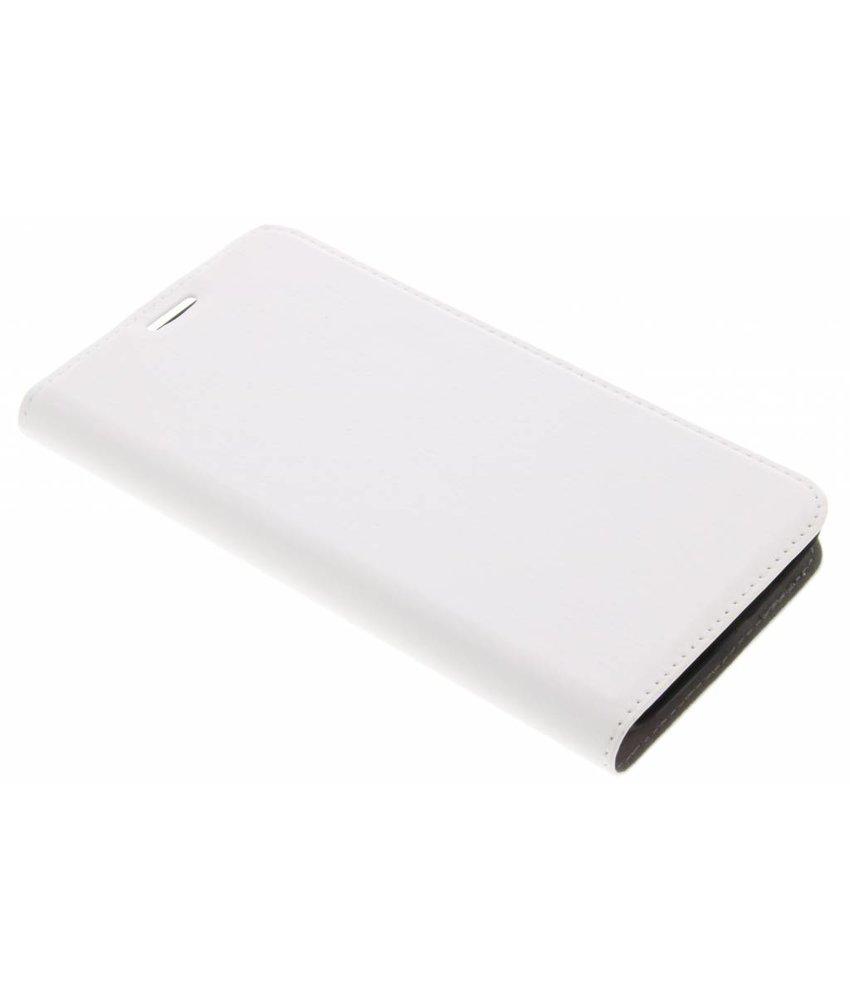 Wit Effen Booklet Motorola Moto E4 Plus