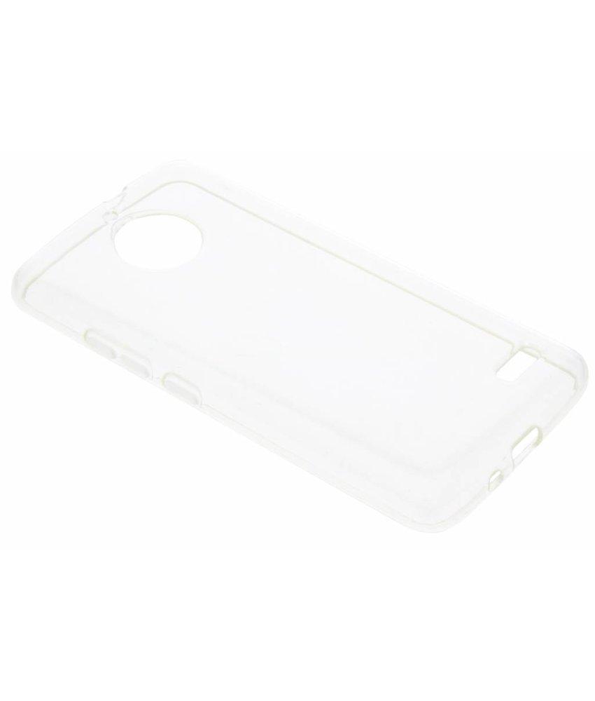 Accezz Transparant TPU Clear Cover Motorola Moto E4