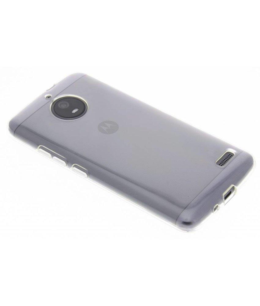 Transparant gel case Motorola Moto E4
