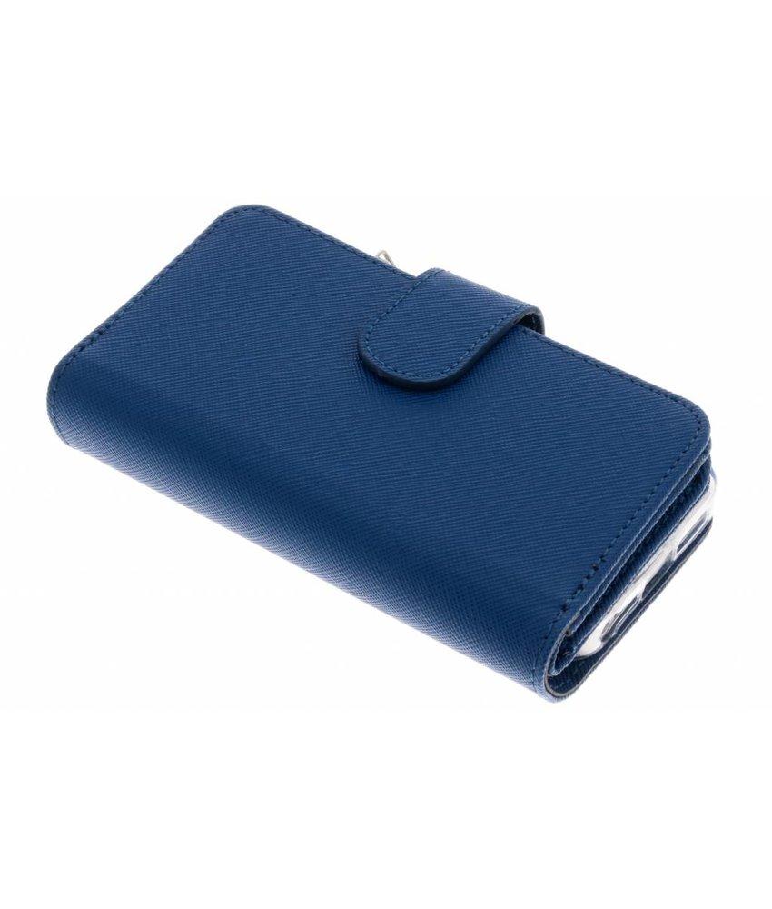Selencia Saffiano 9 slots portemonnee hoes iPhone 5 / 5s / SE