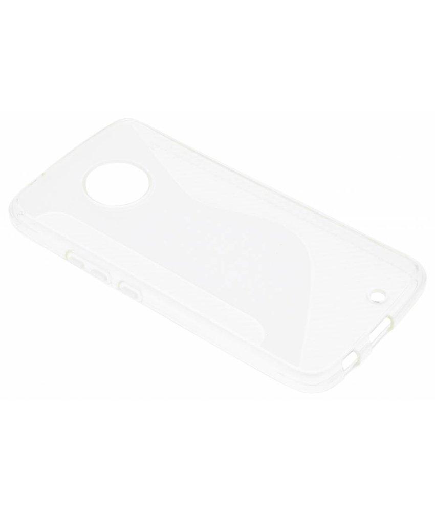 Transparant S-line TPU hoesje Motorola Moto X4