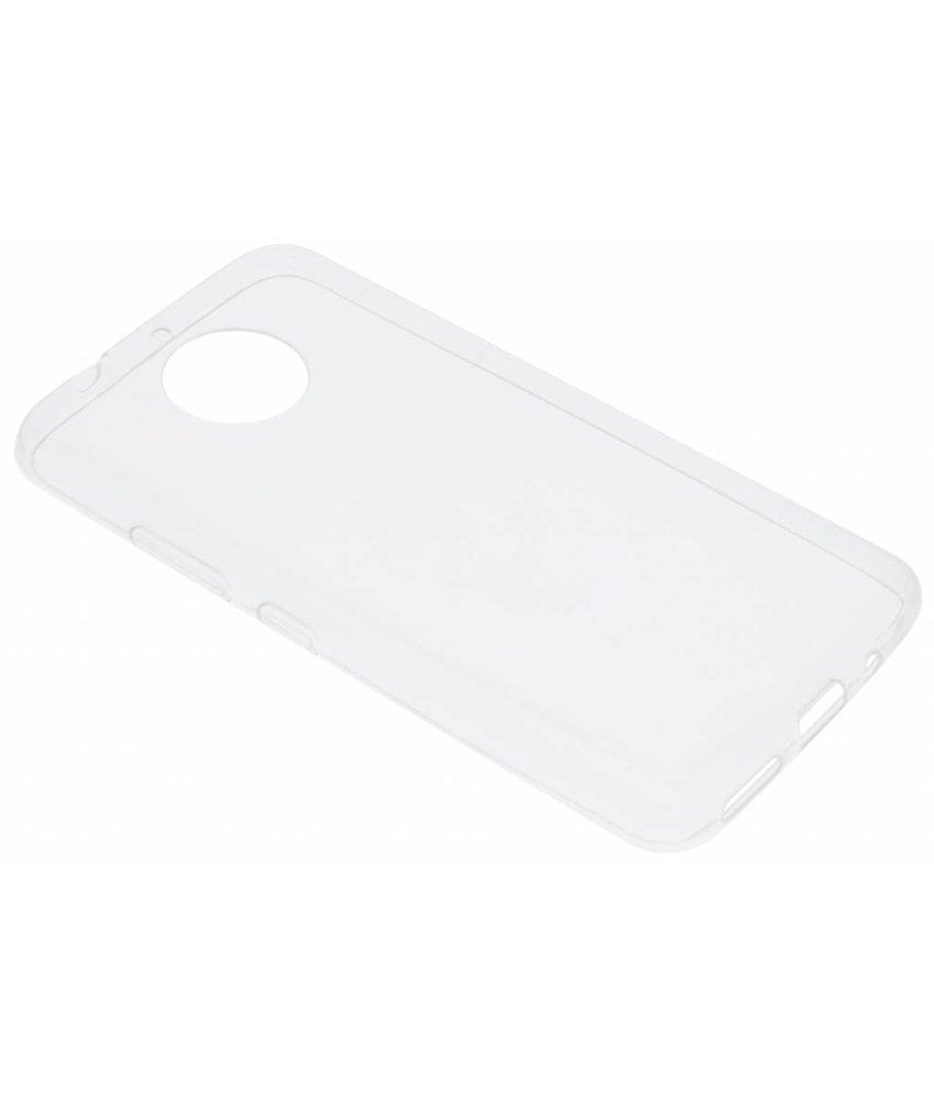Ultra thin transparant TPU hoesje Motorola Moto G5S Plus
