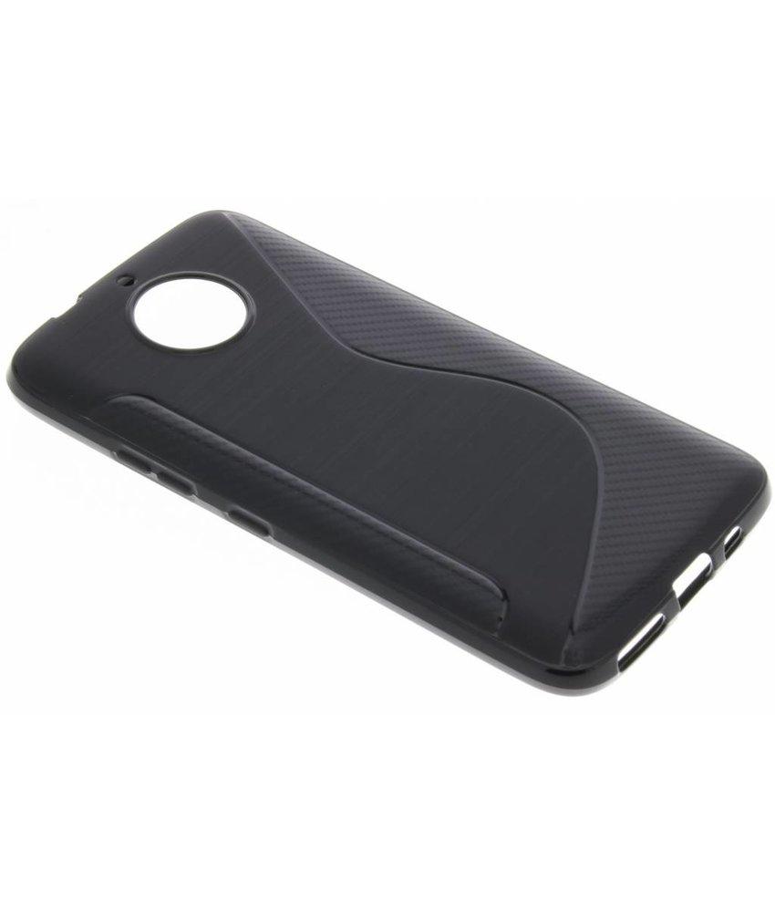 Zwart S-line TPU hoesje Motorola Moto G5S Plus