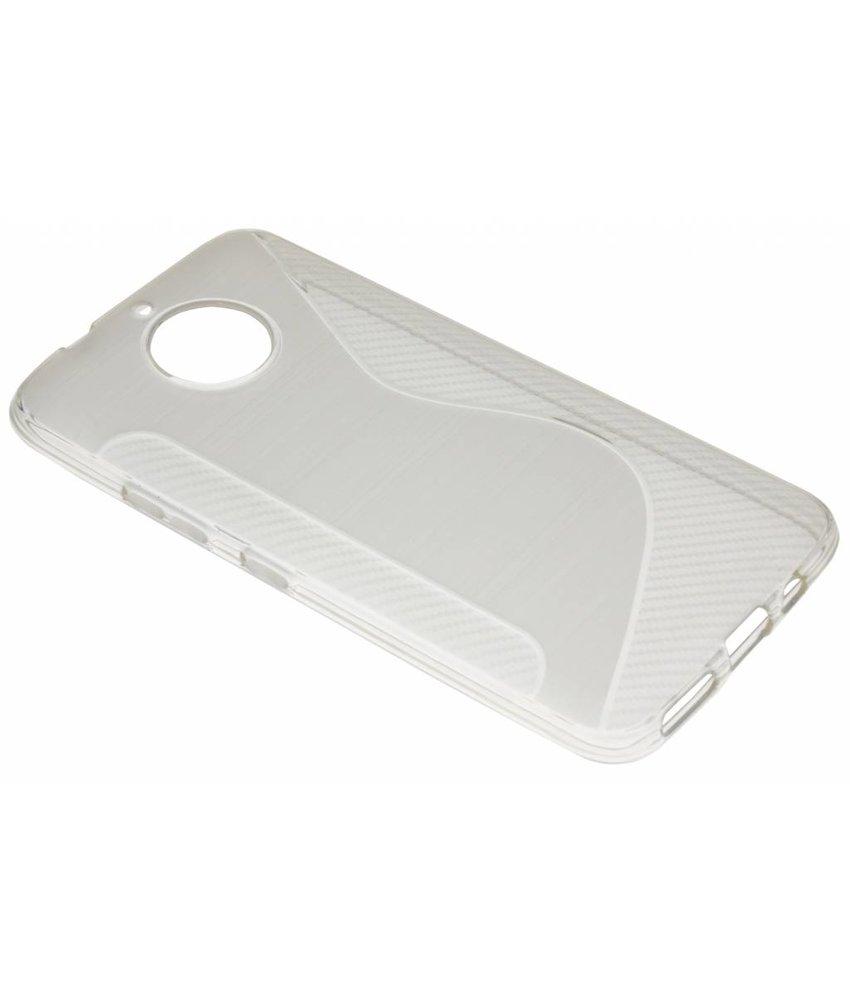 Transparant S-line TPU hoesje Motorola Moto G5S Plus