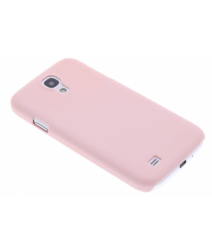 Poederroze pastel hardcase hoesje Samsung Galaxy S4