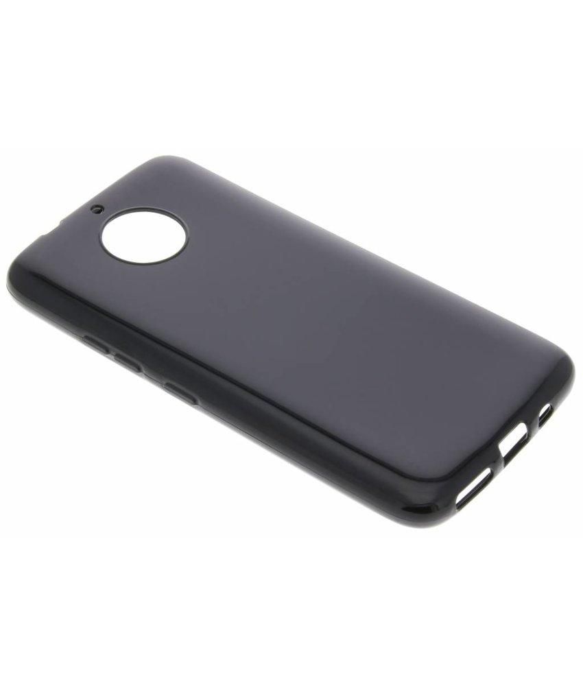 Zwart gel case Motorola Moto G5S Plus