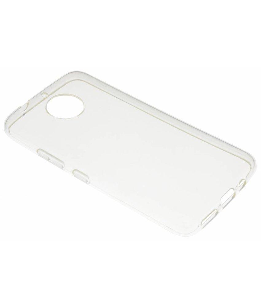 Transparant gel case Motorola Moto G5S Plus