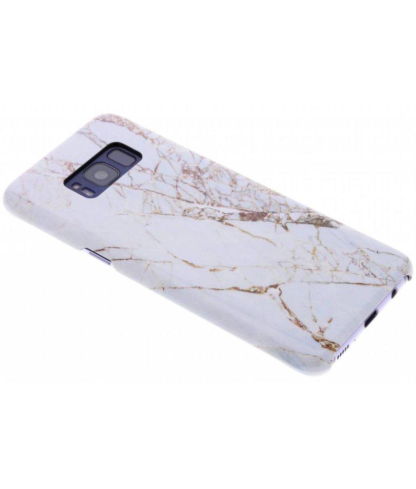 Selencia White Marble Passion Hard Case Samsung Galaxy S8