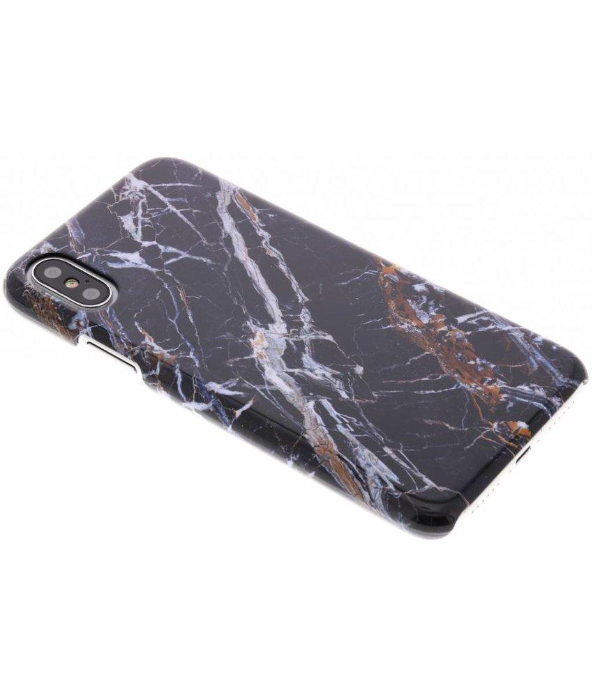 Selencia Black Marble Passion Hard Case iPhone Xs / X